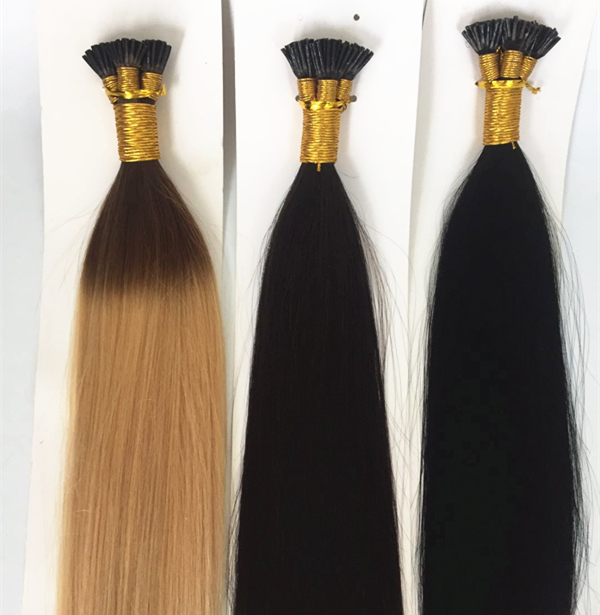 China keratin hair extensions suppliers QM217